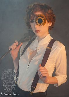 Monocle Prosthetics by Kristen Phillips / S. Anomalous