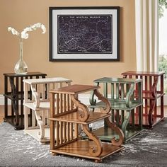 Shop for Lorraine Wood Scroll End Table by iNSPIRE Q Classic. Get free shipping at Overstock.com - Your Online Furniture Outlet Store! Get 5% in rewards with Club O! - 20742347