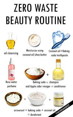 Beauty Routine Skin Care - ZERO WASTE BEAUTY ROUTINE A good exfoliation is essential to clean the skin and eliminate dead cells. This prevents dirt from clogging pores and acne or blackheads. Green Beauty Routine, Beauty Routine Skin, Baking Soda Coconut Oil, Baking Soda Shampoo, Reduce Waste, Zero Waste, Reduce Reuse, Homemade Beauty, Diy Beauty