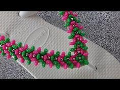 3 em 1 como fazer: chinelo havaiana Fran de pitangas - Adriana Valério - YouTube