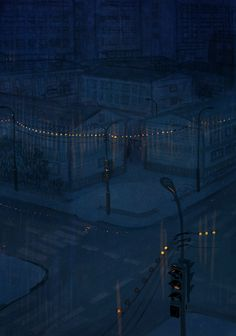 Night rain by ~Ner-Tamin on deviantART