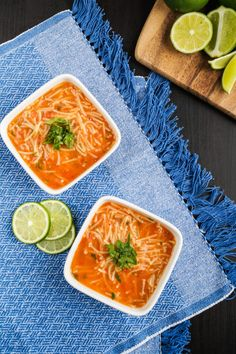 Sopa de Fideo (Mexican Noodle Soup) (1 of 2)
