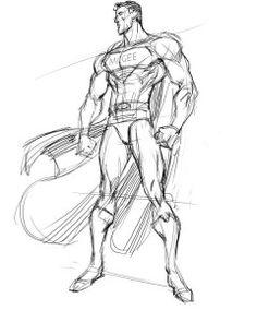 Superman sketch