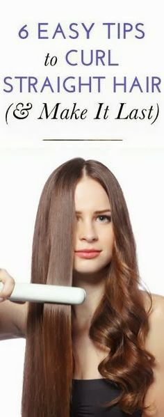 The Ultimate Beauty Guide: 6 Easy Tips to Curl Straight Hair (& Make It Last)  | www.europeanswimsuits.com