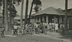 The Milk Can Washing Station, Nakivubo Place, Kampala Uganda 1952