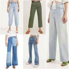 Ropa de moda mujer primavera verano 2021 – Argentinas | Notilook - Moda Argentina Spring Outfits, Trendy Outfits, Cool Outfits, Jean Moda, Casual Trends, Aesthetic Clothes, Ideias Fashion, Jeans, Fashion Trends