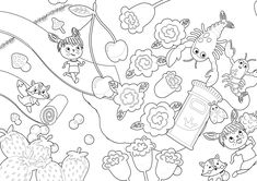 Download 25 beautiful colouring pages in ready to print format for free! Best Christmas Presents, A Christmas Story, Christmas Colors, Christmas Fun, Zoo Coloring Pages, Coloring Sheets, Coloring Books, Zoo Drawing, Christmas Cards Drawing