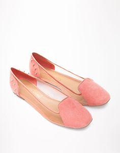 Bershka United Kingdom - Bershka spiked mesh slippers