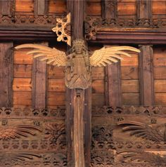 St Wendreda's Church in March, Cambridgeshire has been in existed for over 1,000 years. Its medieval glory is its magnificent double-hammer beam roof and together with 120 carved angels it is regarded as one of the best of its kind anywhere.