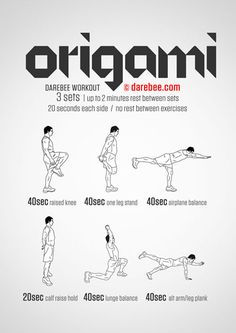 Origami  Workout | Posted By: AdvancedWeightLossTips.com