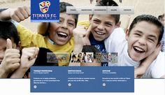 Sitio web TITANES - Año ©2014