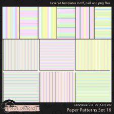 EXCLUSIVE Layered Paper Patterns Templates Set 16 by NewE Designz cudigitals.com cu commercial scrap scrapbook digital graphics mix #cu #digitalscrapbooking #photoshop #digiscrap #scrapbooking