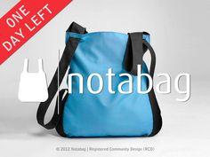 Notabag: Innovative combination of a bag and a backpack by Adnan Alicusic, via Kickstarter.