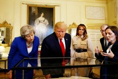 Trump Baby Blimp, Meeting with the Prime Minister & More Moments from President Trump's State Visit — Day 2 Trump Baby, Theresa May, Prime Minister, Donald Trump, Presidents, Politics, In This Moment, Day