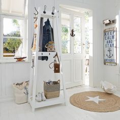 #nautical #hallway ★★★ Keep calm and stay anchored