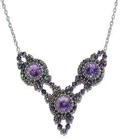 Antique Necklace at AroundTheBeadingTable.com