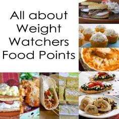 All about Weight Watchers Food Points