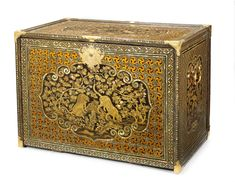A magnificent Nanban cabinet Momoyama period late century All Japanese, First Contact, 17th Century, Oriental, Decorative Boxes, Asia, Arts And Crafts, Auction, Fine Art