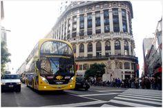 Bus turístico en Buenos Aires