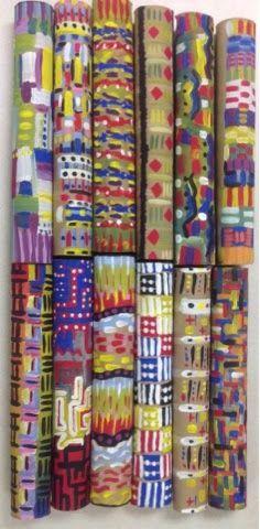 recycled art, also could be a homeroom mural Art With Mr. E: Green/Recycle Art Work Shop 3d Art Projects, Recycled Art Projects, School Art Projects, Hanging Kids Art, Teacher Workshops, Library Art, Art Curriculum, Mural Art, Murals