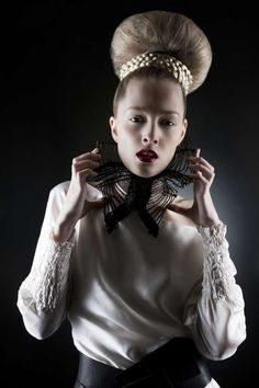 Reimagined Renaissance Photoshoots - The 'CEXN Accessories' Series is Dark and Graceful (GALLERY)