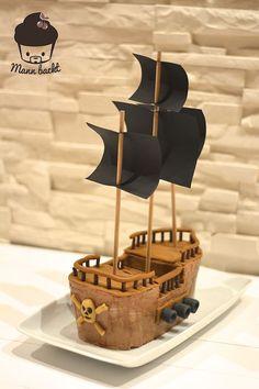 Piratenschiff Torte… für jeden Möchtegern Jack Sparrow und jene die es noch werden wollen