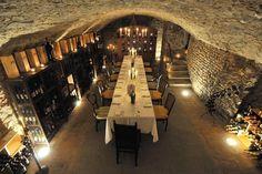Amazing wine cellar dining area - Villa Machiavelli, Tuscany, Italy