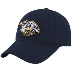 Nashville Predators Navy BL Team Logo Wool Blend Adjustable Hat by Reebok. $15.95. Shake off that puck to the noggin and use your head...by putting on this Nashville Predators Navy BL Team Logo Wool Blend Adjustable Hat. Features raised, embroidered team logo on front.