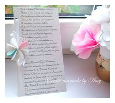 wedding invitation Place Cards, Wedding Invitations, Place Card Holders, Crafts, Ideas, Manualidades, Wedding Invitation Cards, Handmade Crafts, Craft