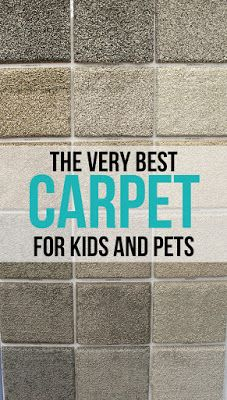 This is the most amazing carpet... it has a special backing on it that prevents kid spills or pet accidents from soaking into the carpet pad and getting all nasty!