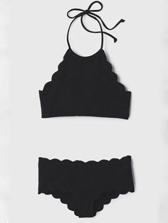 10//12 Abstract//Ditsy  Black//White Tie Hater Holiday Bikini   Sml 8//10 Med