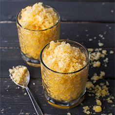 Sicilian Orange Granita Recipe