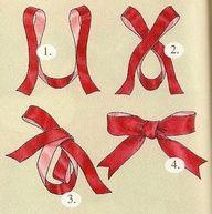 faire un joli noeud