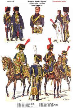 Artillerie a cheval 1800-1815 (pl 74) 2