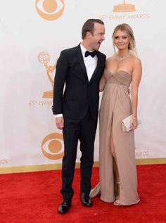 Aaron Paul and Lauren Parsekian. | 25 Celebrity Couples Who Restored Your Faith In Love In 2013