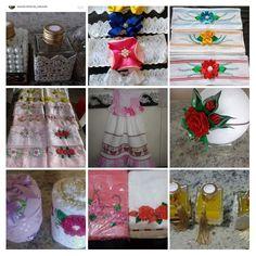Satin Flowers, Handmade Crafts