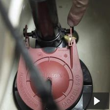 Learn how to replace a toilet flapper.
