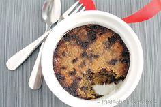 Low Carb Mug Cookie via @tasteaholics