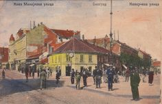 1920's Postcard of Belgrade, Capital of Kingdom of Yugoslavia by bgbgvintage on Etsy