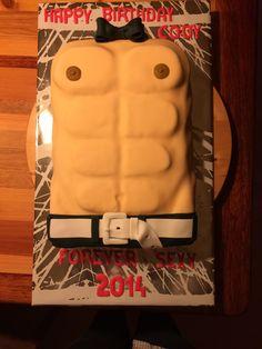 Mannelijke torso taart