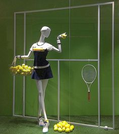 "ELLESSE TENNIS CLUB, Futakotamagawa, Tokyo, Japan, ""I'll let my tennis racket do the talking"", creative by Yasuyuki Komaba, pinned by Ton van der Veer"