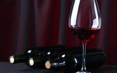 Download wallpapers red wine, glasses of wine, wine cellar, bottles of wine