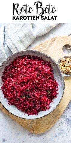 Kitchen Recipes, Raw Food Recipes, Make Ahead Salads, Roh Vegan, Carrot Salad, Slaw Recipes, Mediterranean Dishes, How To Make Salad, Fruit And Veg