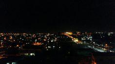 Vista noturna do Centro de Manaus.