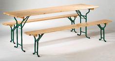 Le Pack Eco : la table 70 cm + les 2 bancs Konvivial