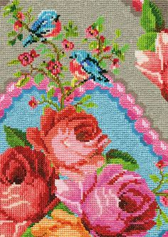 Embroidery wall... Home & Garden: Papiers-peints : Pip Studio vs Catalina Estrada