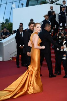Jessica Chastain Photos Photos - 70th Anniversary Red Carpet Arrivals - The 70th Annual Cannes Film Festival - Zimbio