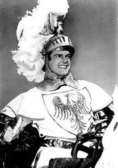 Roger Moore as Ivanhoe Good Old Times, The Good Old Days, Sweet Memories, Childhood Memories, Serie Tv Francaise, Tv Retro, Timeless Series, Roger Moore, Beloved Book