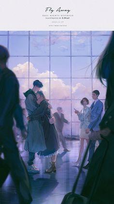 Cute Couple Art, Anime Love Couple, Anime Couples Drawings, Anime Couples Manga, Romantic Anime Couples, Cute Couples, Arte Do Kawaii, Cute Anime Coupes, Couple Illustration