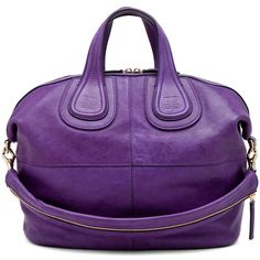 GIVENCHY Nightingale Medium in Purple ($1,945) found on Polyvore